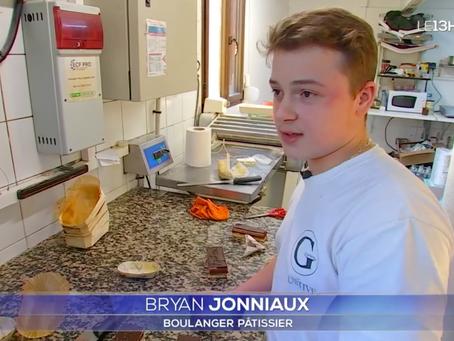 Notre partenaire Brayan Jonniaux plus jeune boulanger de France sur TF1