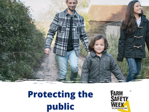 Work or leisure – stay safe in the countryside