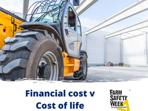 Lack of farm safety could cost you your life!