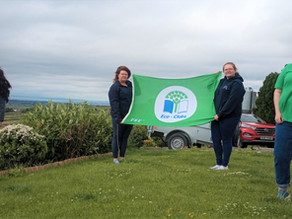 Mourne YFC excels in biodiversity on achieving Prestigious Green Flag Award