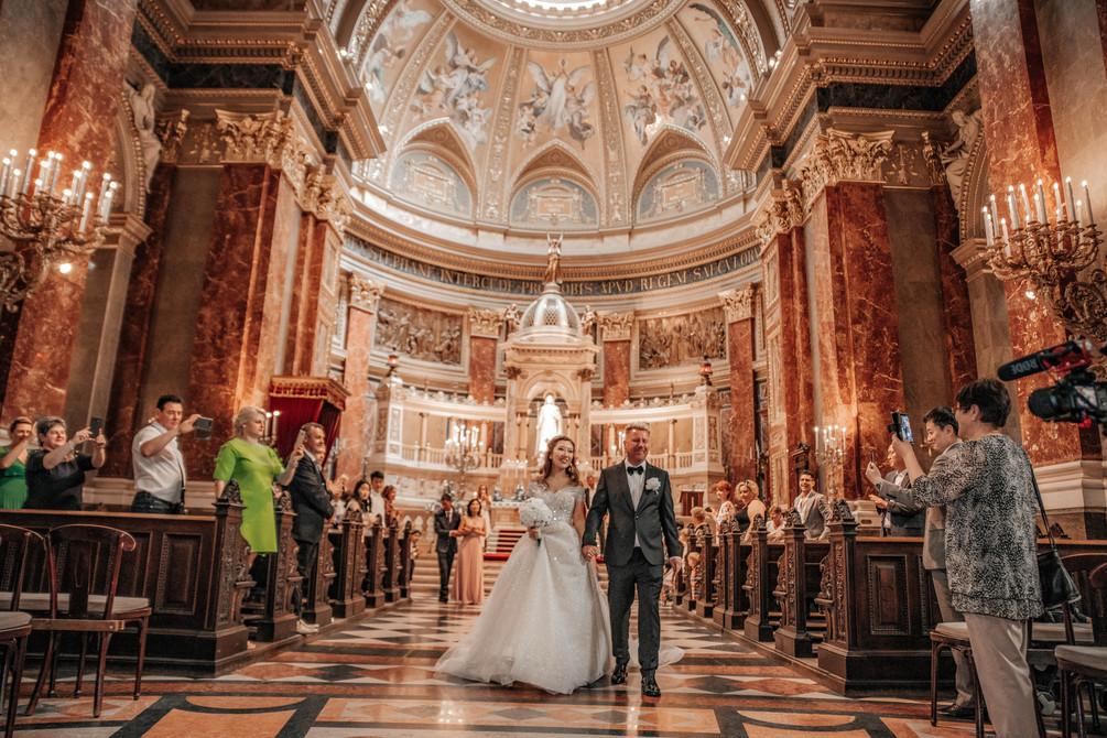 szent-istván-bazilika-esküvő-fotózá