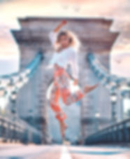 Photoshoot on Chain Bridge, Budapest