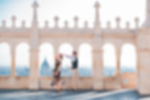 Engagement Photographer in Budapest at Fisherman's Bastion