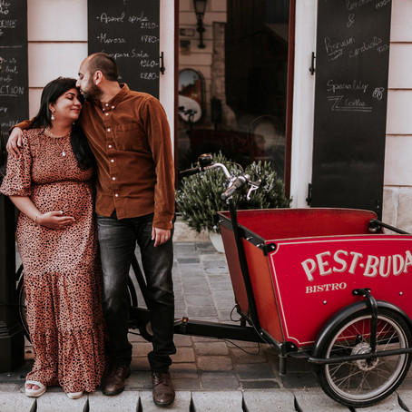 First maternity photoshoot of Noor and Sabr