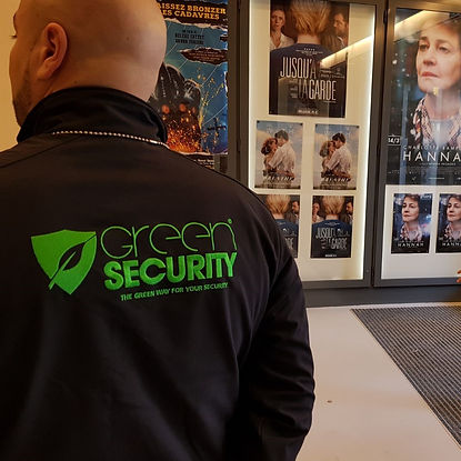 Green Security, Gardiennage statique, surveillance de biens