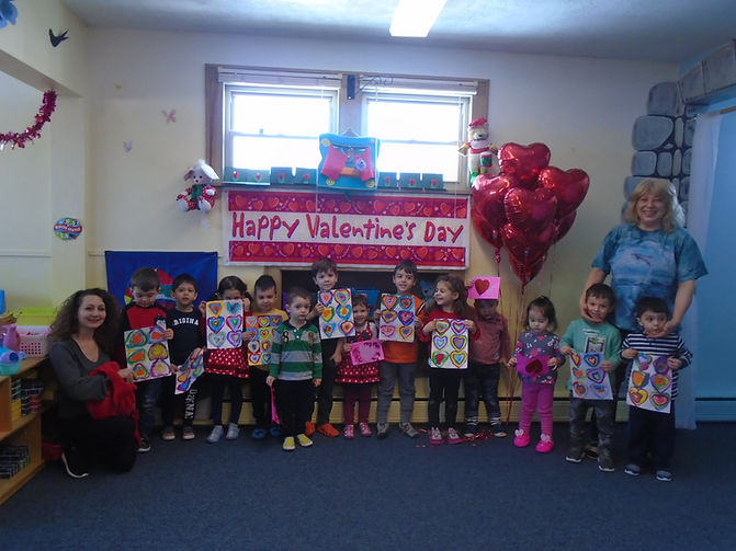 Valentines Day at Little Blue Bear Daycare