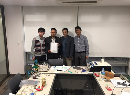 Seoul HQ Visit from Indonesian distributor PT.DELTA