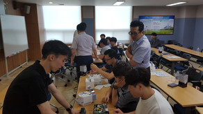 Service education in Chungcheong region in 2018
