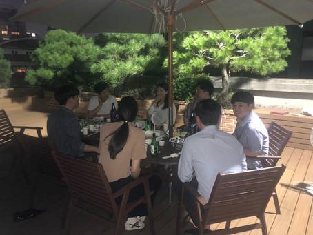 대화기기(주) 사원 Round Table Meeting