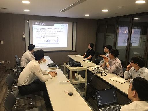 2017년 7월 13일 전기수술기 신제품 영업사원 교육