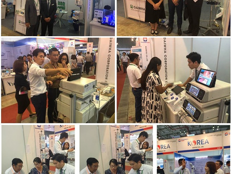 Participated in 2019 Vietnam Medical Equipment Show (PHARMEDI 2019)