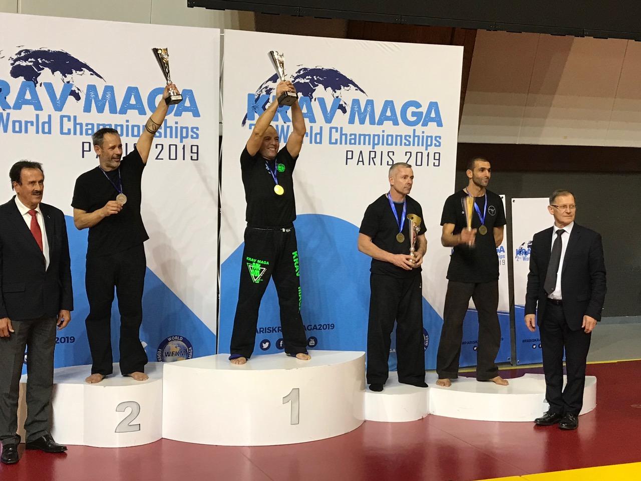 Médaillé Bronze du Monde : Yamani K.