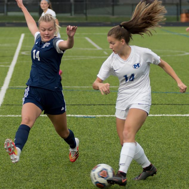 Fairmont Women's Soccer vs Miamisburg 9-