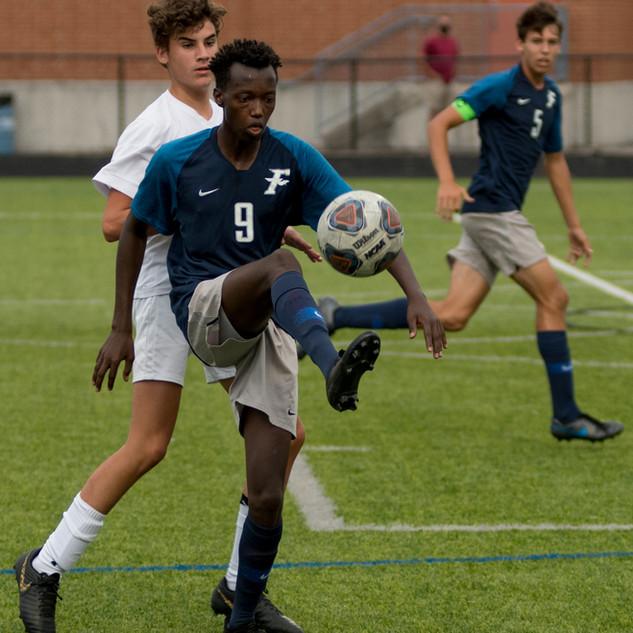 Fairmont Men's Soccer vs Springfield 9-1