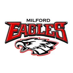 Milford High School SIDEARM Logo 200x200
