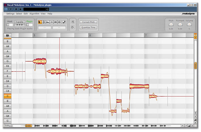 Vocal Tuning