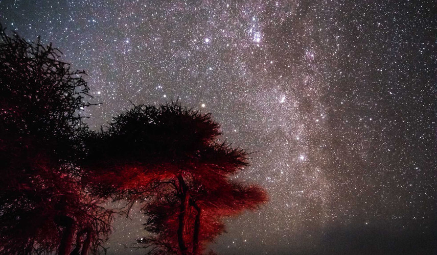 Hors piste Mauritanie - La nuit
