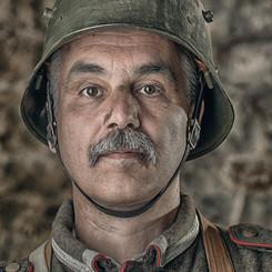 Portrait Andreas - Bataille des forts