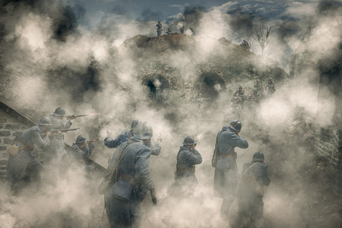 Bataille des forts - Fort des basses perches bataille