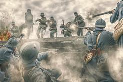 Bataille des forts - Fort Bessoncourt attaque