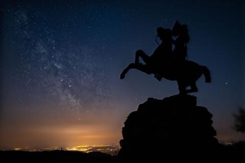 Jeanne d'Arc et la Voie Lactée - Ballon