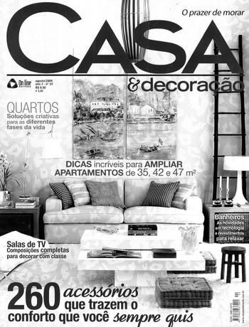revista casa & decoracao agosto 2009_edi