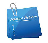 35442749-stock-vector-meeting-agenda-mem
