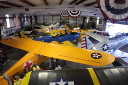 A very full hangar