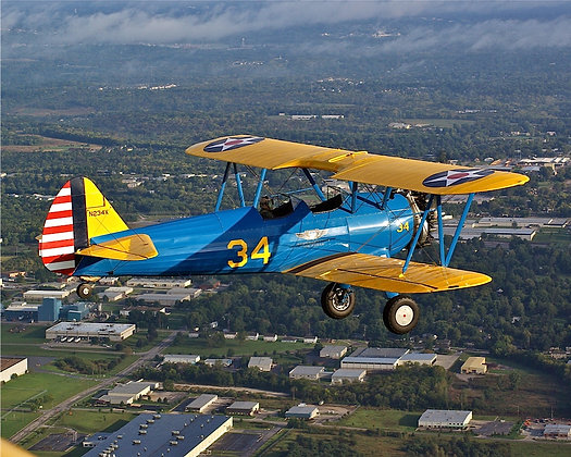 Book a Stearman Ride