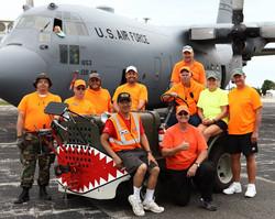 Ramp Crew and C-130