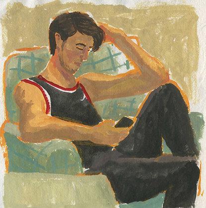Brandon, Original Artwork