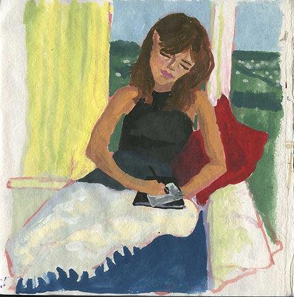 Olivia, Original Artwork