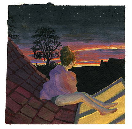 Rooftop Archival Print