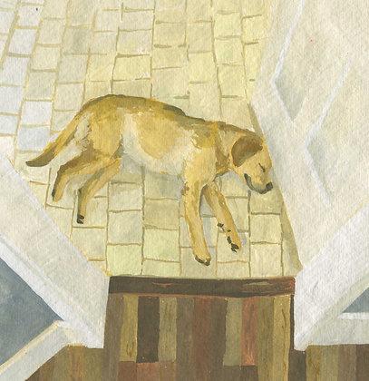 Sleeping Molly, Original Artwork