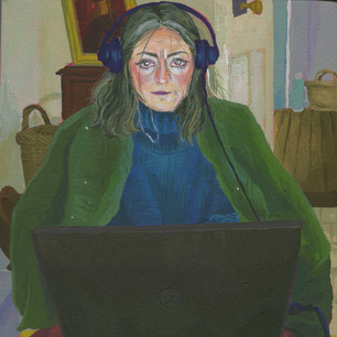 Portrait of my Mother, WFH