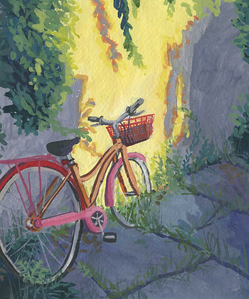 Spray Painted Bicycle