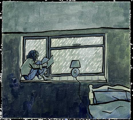Reading, Original artwork