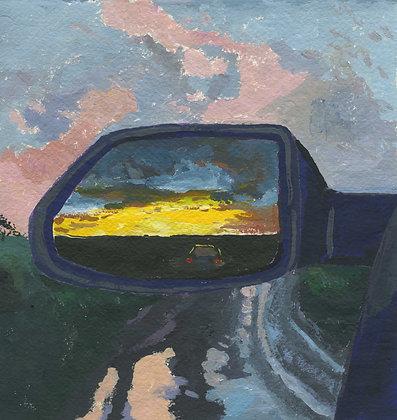 Sunset Drive, Original Artwork