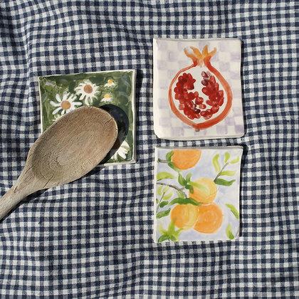 Spoon rest/tile