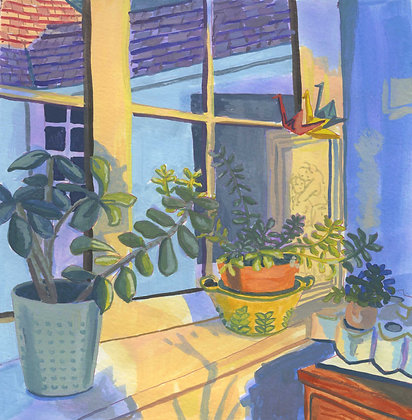 Succulents, Original Artwork