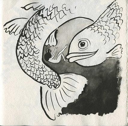 Sinking, Original Artwork