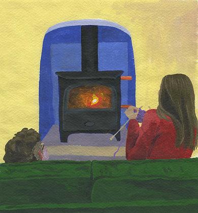 By The Logburner, Original Artwork
