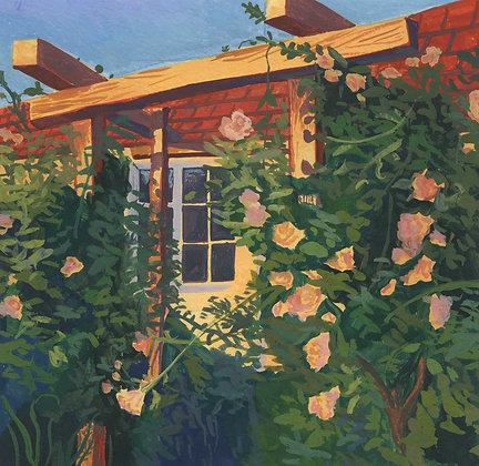 Rose Garden, Original Artwork