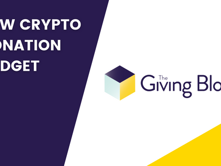 The Giving Block Launches New Donation Widget With New Coins for Bitcoin Tuesday