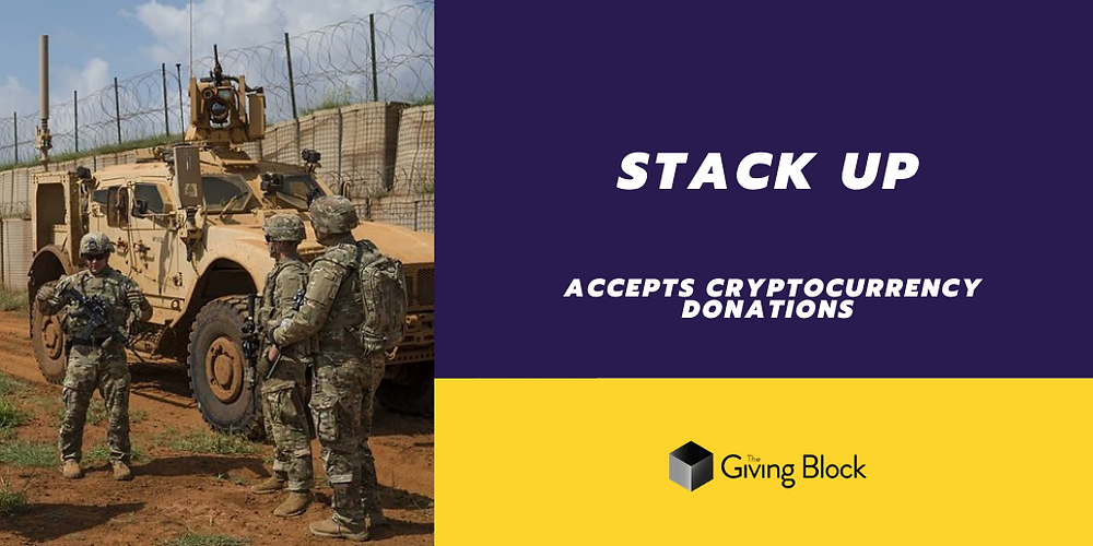 Donate Cryptocurrency to Stack Up