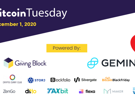 Crypto's Biggest Brands Coming Together for #BitcoinTuesday