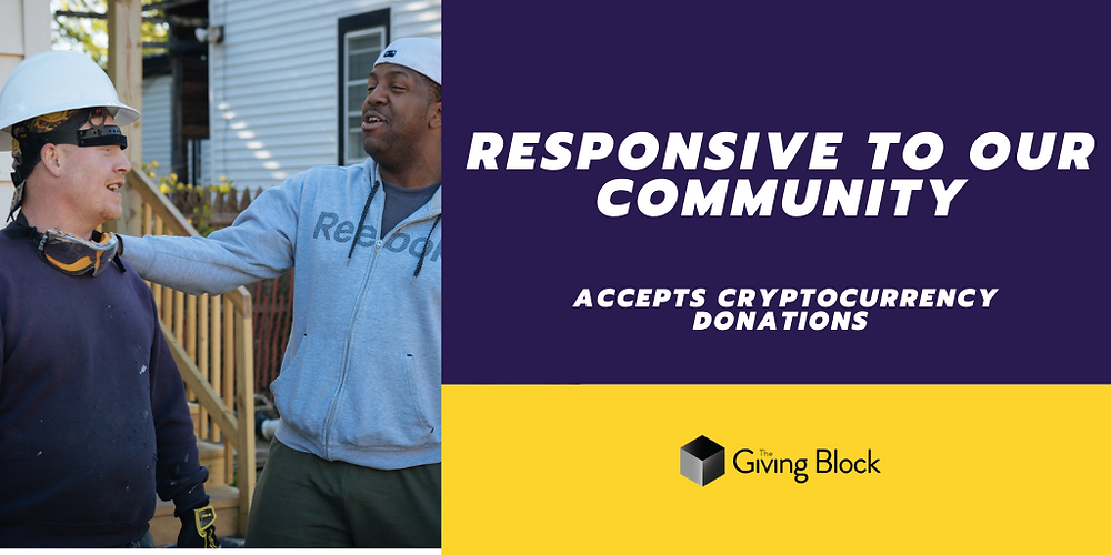 Donate Cryptocurrency to Responsive to our Community