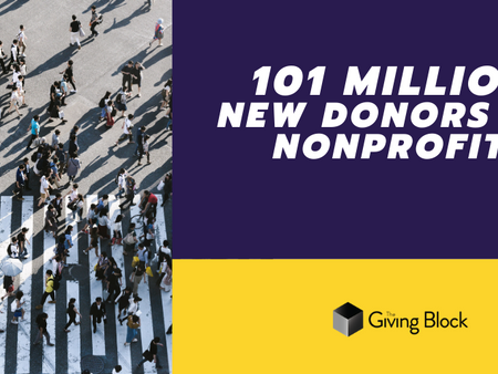 101 Million Crypto Users Worldwide Means 101 Million New Potential Donors for Nonprofits
