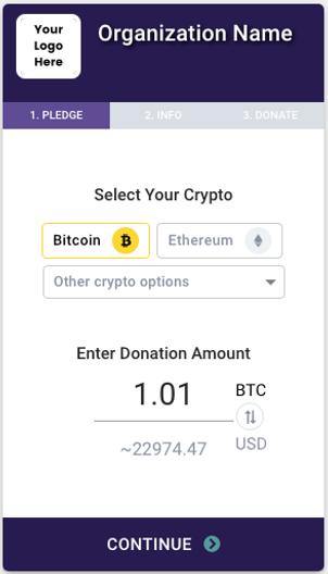 bitcoin donate widget btc sistemos co