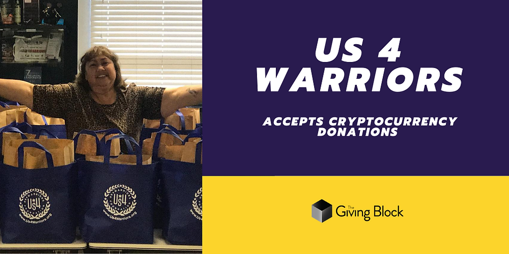 Donate Cryptocurrency to US 4 Warriors